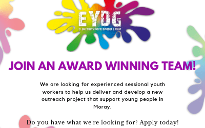 Job Vacancy: Sessional Youth Workers
