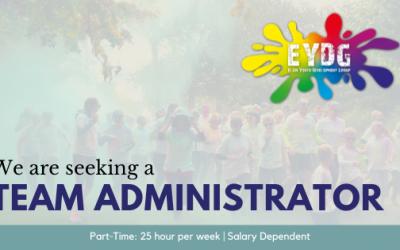 Vacancy: Team Administrator